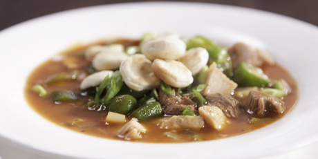 Bbq turkey or chicken gumbo recipes food network canada bbq turkey or chicken gumbo forumfinder Images