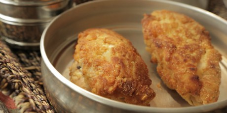 Bourbon brined fried chicken recipes food network canada bourbon brined fried chicken forumfinder Gallery