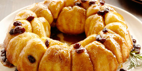 Alton's Overnight Monkey Bread