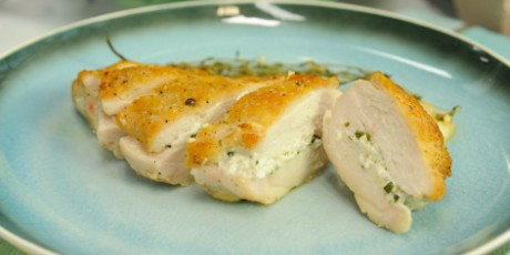 Goat cheese and herb stuffed chicken breasts recipes food network goat cheese and herb stuffed chicken breasts forumfinder Gallery