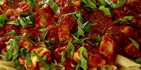 Chicken mozzarella pasta recipes food network canada chicken mozzarella pasta forumfinder Gallery