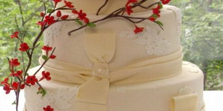 Perfect Cinnamon Vanilla Wedding Cake With Mexican Hot Chocolate Buttercream. Print  Recipe