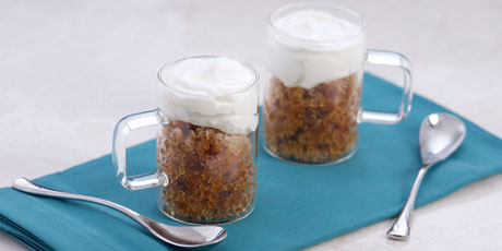 Espresso Granita with Coconut Cream