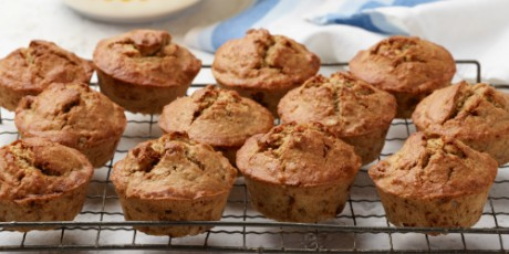 Banana bread muffins recipes food network canada banana bread muffins print recipe forumfinder Images