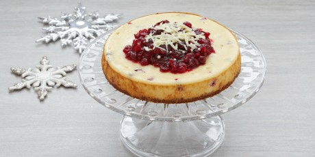 Cranberry White Chocolate Cheesecake Recipes Food Network Canada