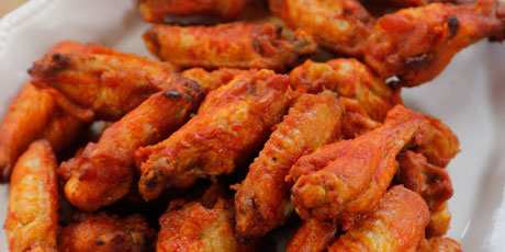 kicked up spicy wings recipes food network canada