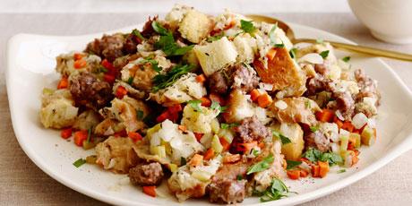 Slow cooker sausage stuffing recipes food network canada slow cooker sausage stuffing print recipe forumfinder Images
