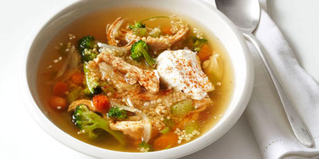 Chicken and quinoa soup recipes food network canada chicken and quinoa soup print recipe forumfinder Image collections