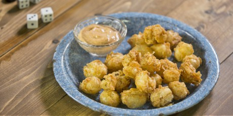 Bite-Sized Blooming Onions