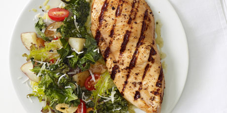 Grilled chicken with roasted kale recipes food network canada grilled chicken with roasted kale print recipe forumfinder Gallery