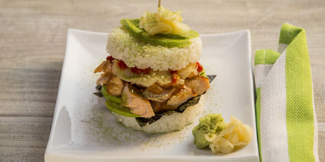 Sushi Burger Recipes | Food Network Canada