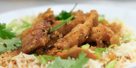 Chicken thighs in mild red curry recipes food network canada chicken thighs in mild red curry forumfinder