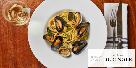 Clam and Mussel Linguine