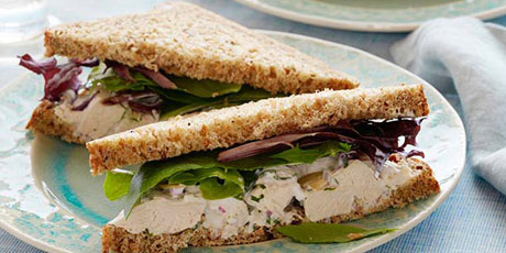 Herbal chicken salad sandwiches recipes food network canada herbal chicken salad sandwiches print recipe forumfinder Choice Image