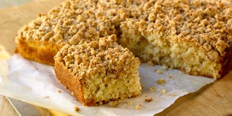 Recipe for apple crunch cake