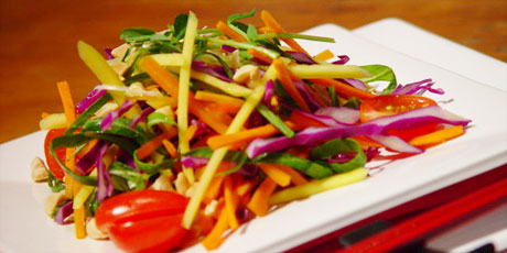 Asian slaw recipes food network canada asian slaw forumfinder Choice Image