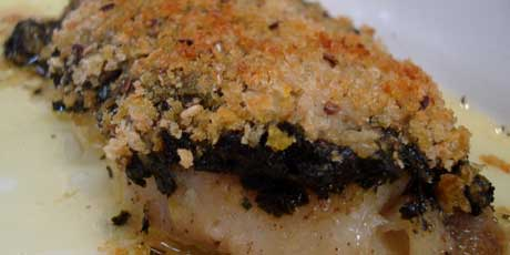Baked crusted whitefish recipes food network canada baked crusted whitefish michael smith forumfinder Image collections