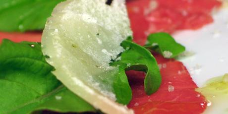 Beef Carpaccio With Arugula And Parmesan Recipes Food Network Canada