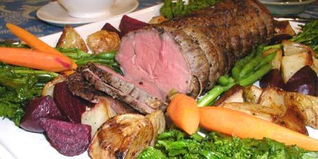 Beef Tenderloin with Cabernet Shallot Sauce Recipes | Food Network ...