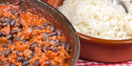 Black Bean and Rice Chili-in-the-Oven Recipes | Food Network Canada