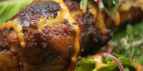 Blackened Chicken Salad with French Vinaigrette
