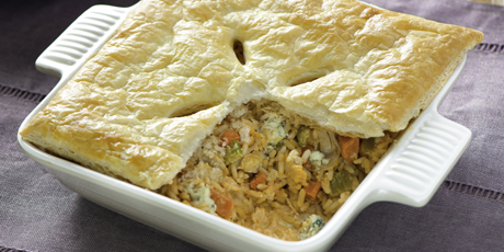 Buffalo chicken pot pie recipes food network canada buffalo chicken pot pie print recipe forumfinder Gallery