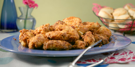 Anna Olson's Buttermilk Fried Chicken