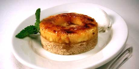 Caramelized Pineapple Brown Sugar Cake