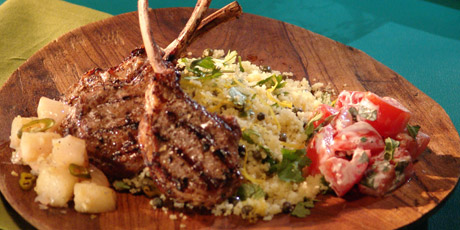 Cardamom Marinated Lamb Chops Recipes | Food Network Canada