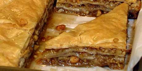 Αποτέλεσμα εικόνας για baklava recipes