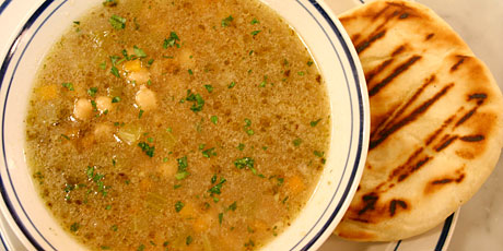 CC's Greek Chickpea Soup Recipes | Food Network Canada
