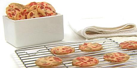 Cherry Pecan Icebox Cookies