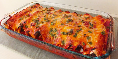 Chicken enchiladas recipes food network canada chicken enchiladas print recipe forumfinder