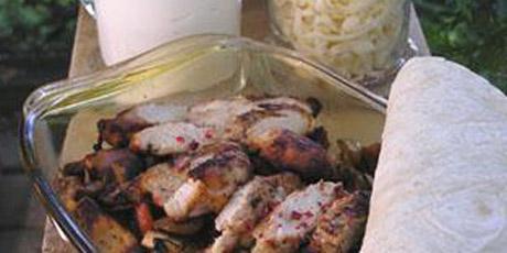 Chicken fajitas recipes food network canada chicken fajitas print recipe forumfinder Choice Image