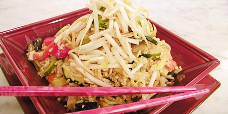 Chicken fried rice recipes food network canada chicken fried rice forumfinder Image collections
