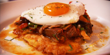 Chicken Marengo With Fried Eggs Recipes Food Network Canada