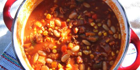 Chicken White Bean Amp Corn Chili Recipes Food Network Canada