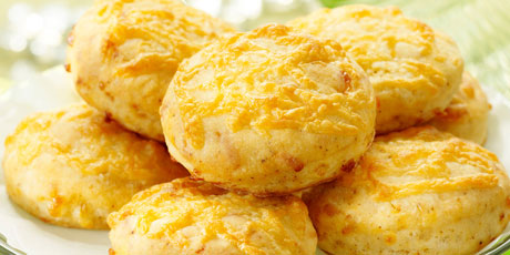 Chili and Cheddar Holiday Biscuits