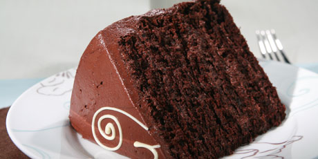 Anna Olson Chocolate Fudge Cake