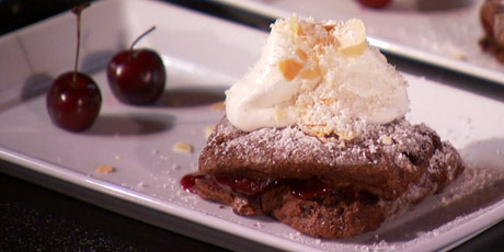 Chocolate Cherry Shortcakes Recipes | Food Network Canada