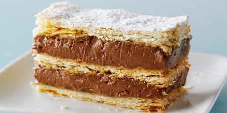 Chocolate Hazelnut Napoleon Recipes Food Network Canada