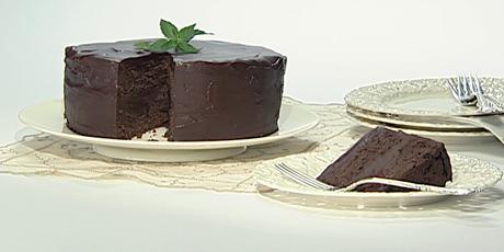 Chocolate Peppermint Truffle Cake Recipes | Food Network Canada