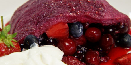 Chuck Hughes' Summer Berry Pudding Recipes | Food Network Canada