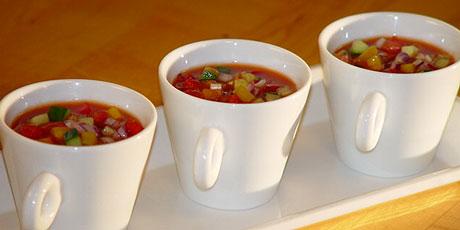Chunky Gazpacho Recipes Food Network