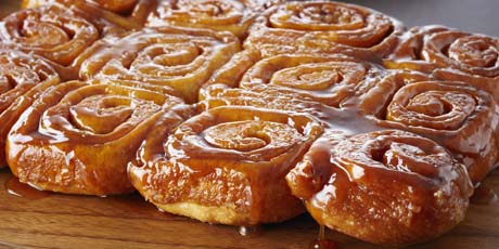 sticky buns recept