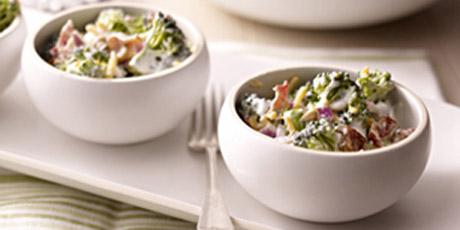 Creamy Bacon Broccoli Salad