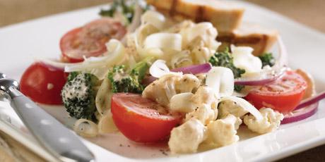 Healthy recipes meals breakfast lunch dinner health foods crunchy cauliflower salad forumfinder Images