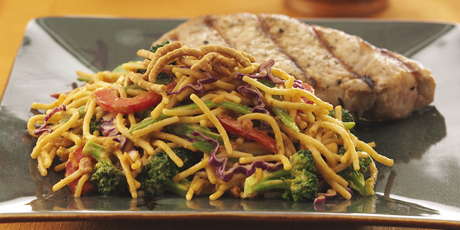 Crunchy thai noodle salad recipes food network canada crunchy thai noodle salad print recipe forumfinder Choice Image
