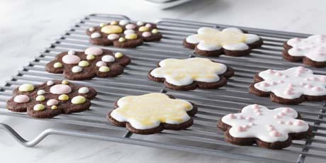 Holiday recipes christmas cookies appetizers xmas dinner ideas decorated shortbread cut out cookies forumfinder Gallery