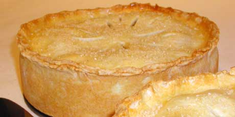 Apple pie is the ultimate autumn dessert. Filled with soft, sweet apples and warm spices baked between buttery pastry, it's like a big cozy sweater on a plate.
